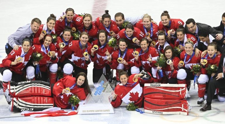 women's hockey gold medal match